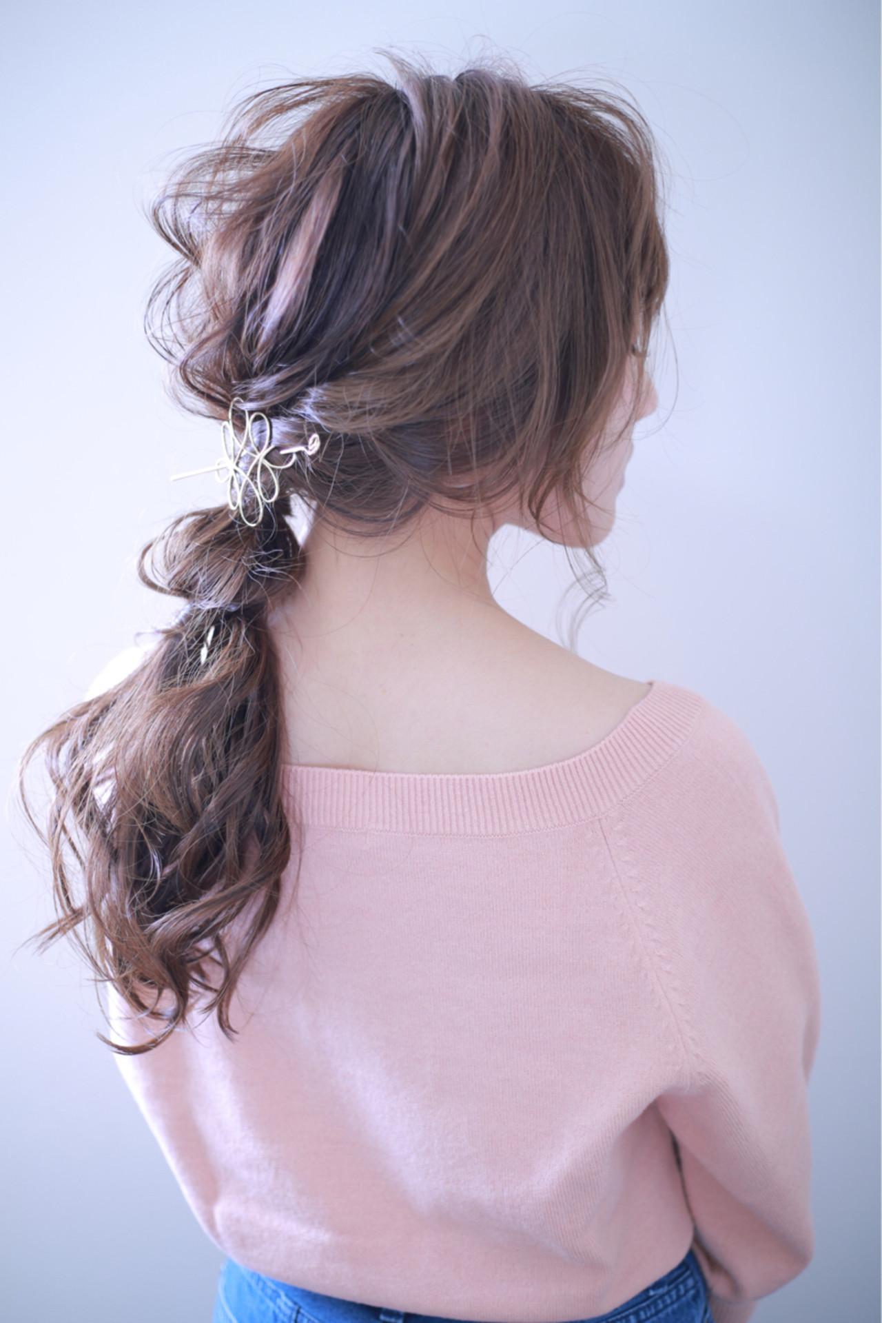 フェミニン 二次会 女子会 デート ヘアスタイルや髪型の写真・画像