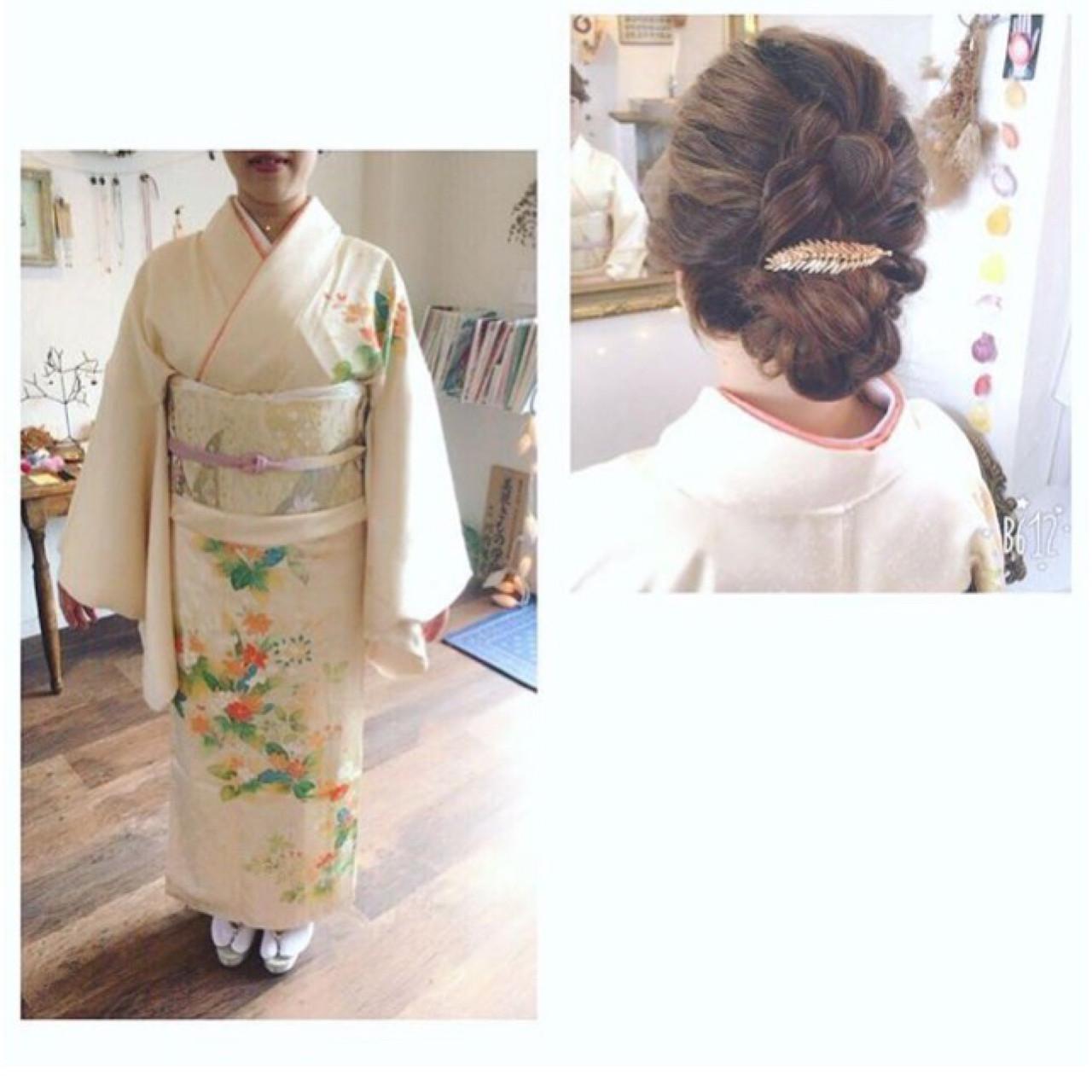 はんなり美しい着物美人に♡華やか艶やか和装にぴったりの髪型 川内道子 instagram→michiko_k