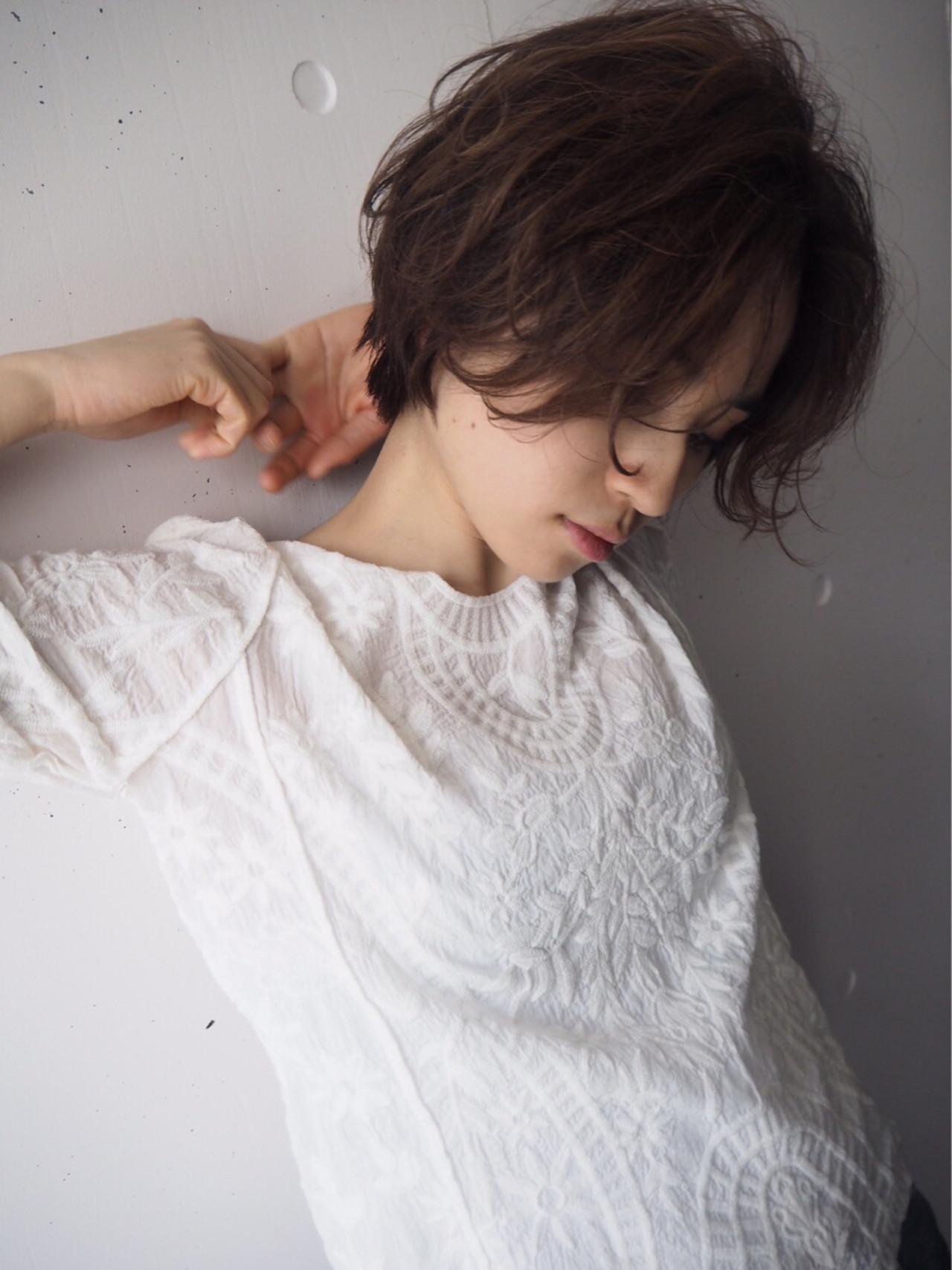 ショートヘアパーマの種類を徹底調査♡スタイルに悩んでいる人必見です! 菅沼宏恵