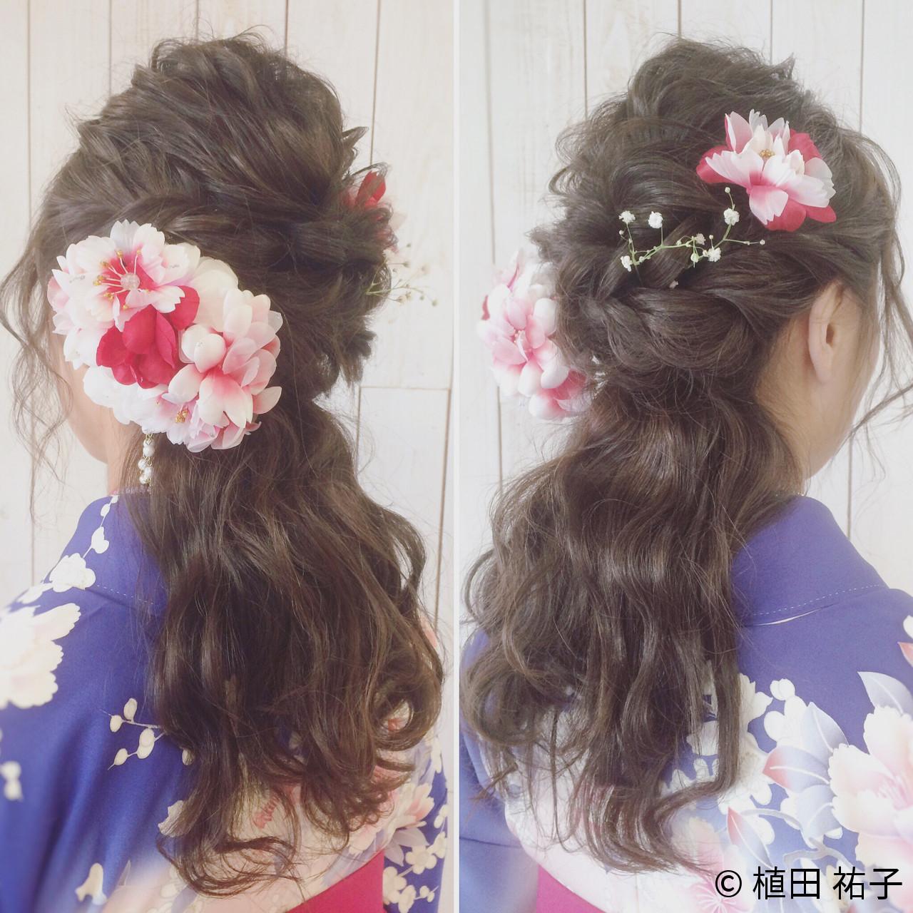 はんなり美しい着物美人に♡華やか艶やか和装にぴったりの髪型 植田 祐子