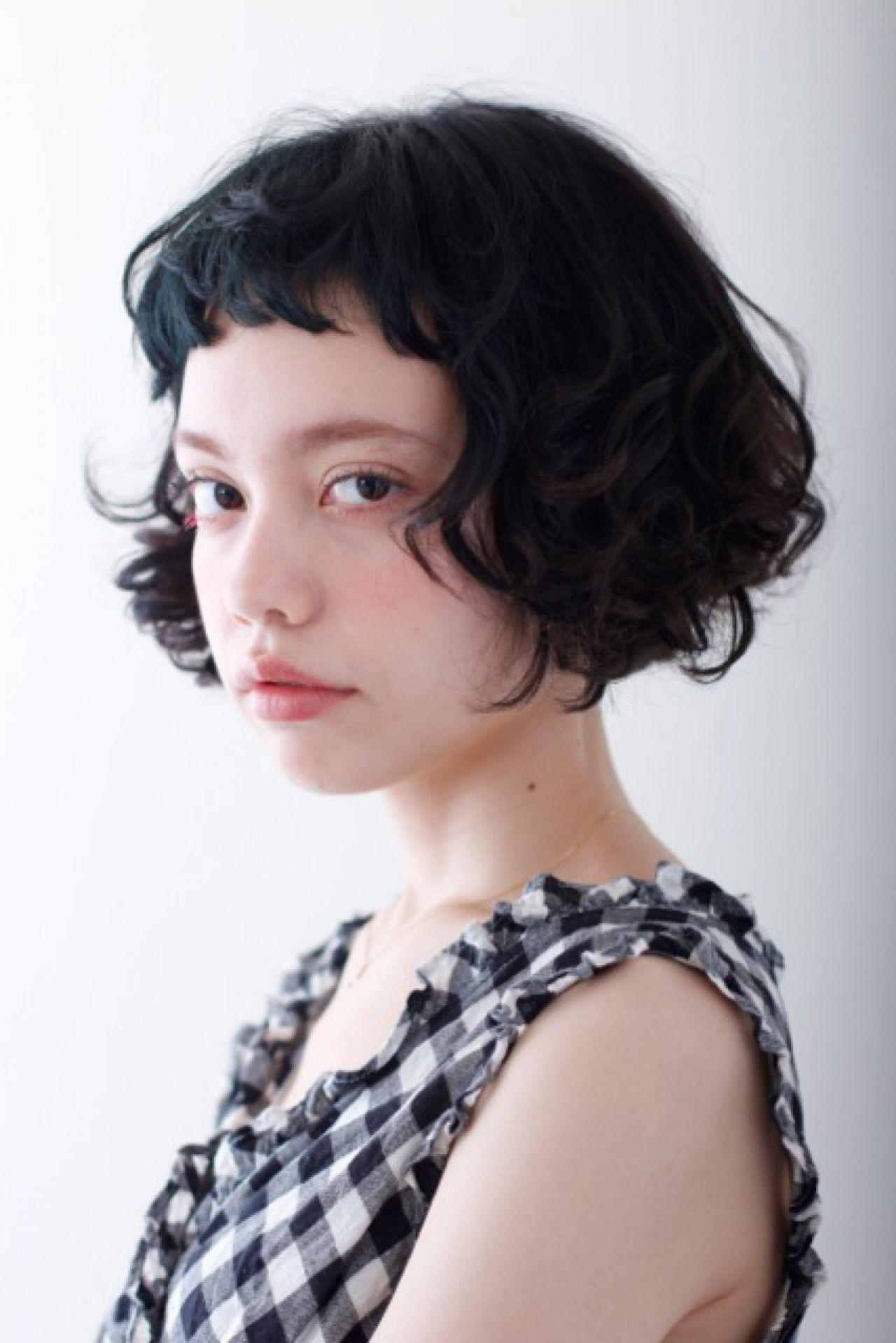 ショートヘアパーマの種類を徹底調査♡スタイルに悩んでいる人必見です! Ai Hamamoto