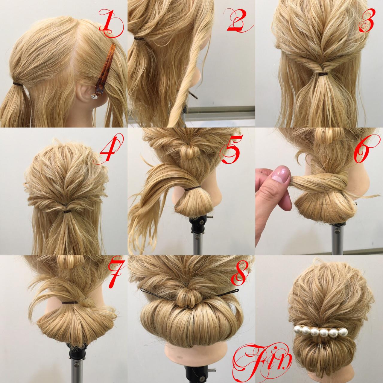 これさえ見ればすぐできる!簡単3ステップ♡ギブソンタックのやり方を公開! hiroki  hair latelier emma