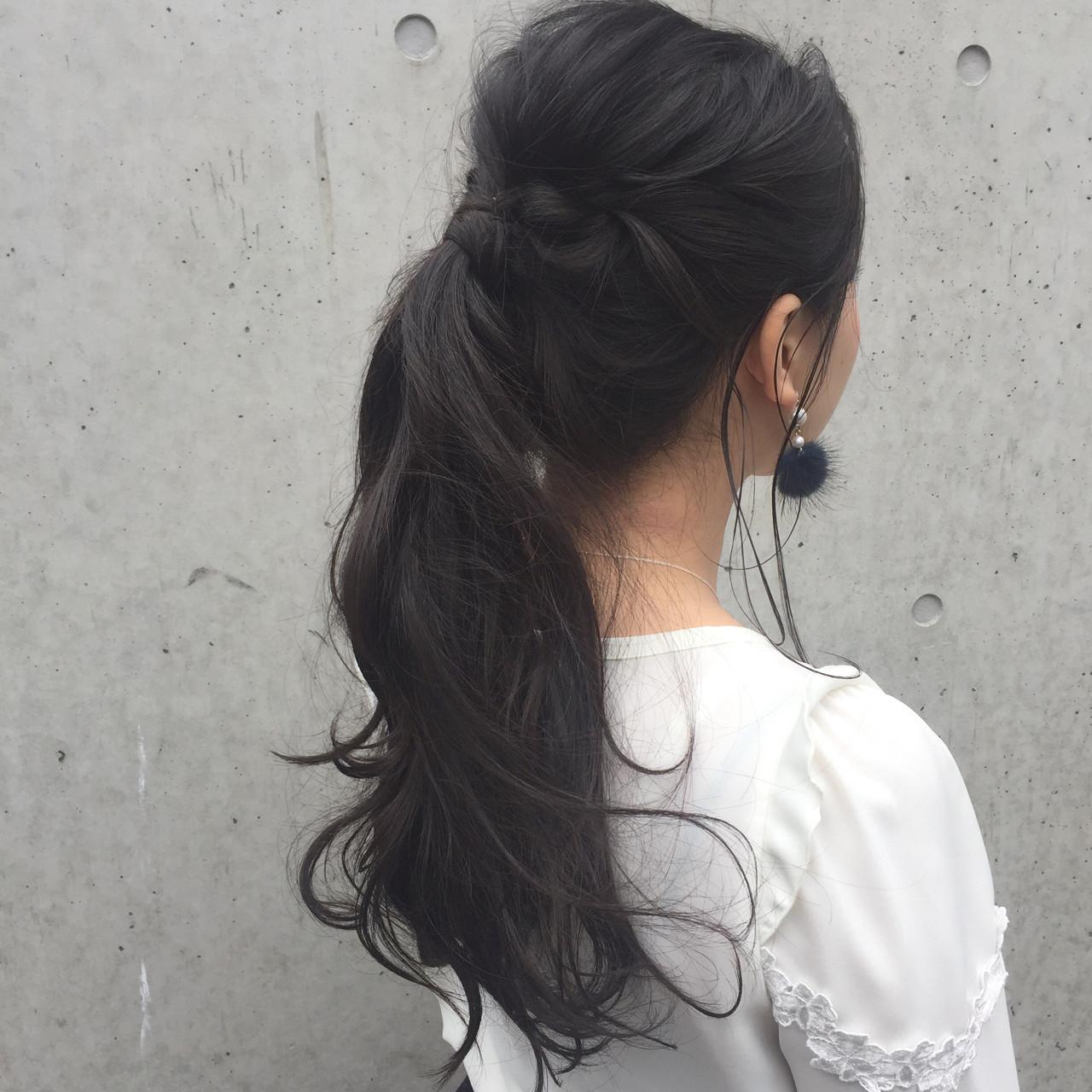 黒髪女子必見♪ツヤツヤの黒髪が映えるおすすめヘアアレンジに挑戦しよう! 大隣 正佳  LAiLY by GARDEN