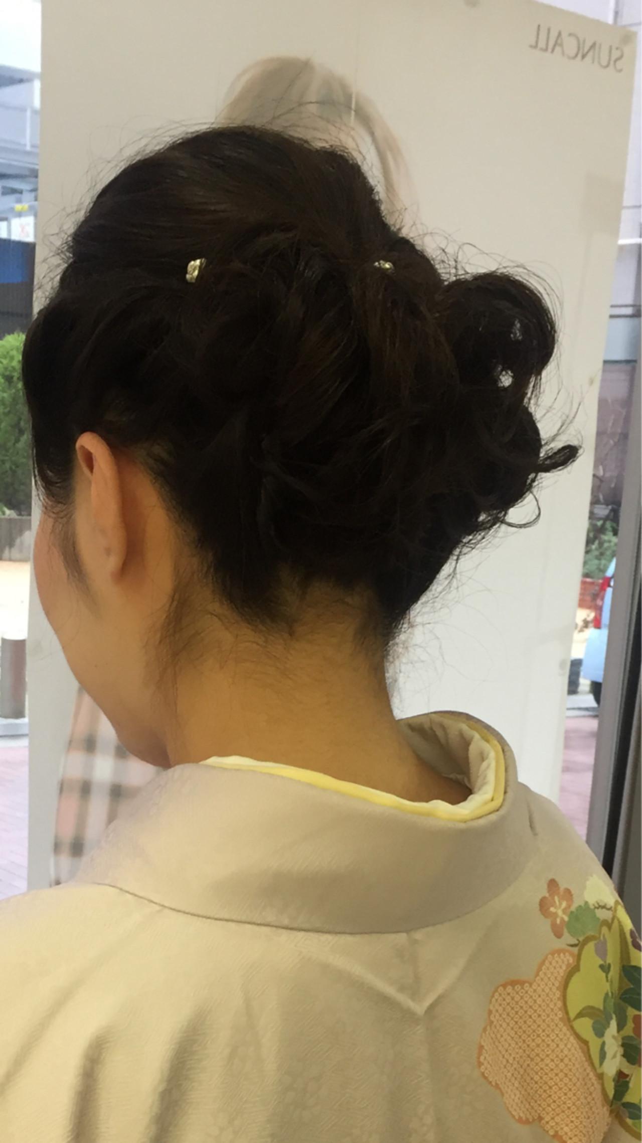 はんなり美しい着物美人に♡華やか艶やか和装にぴったりの髪型 yuki..