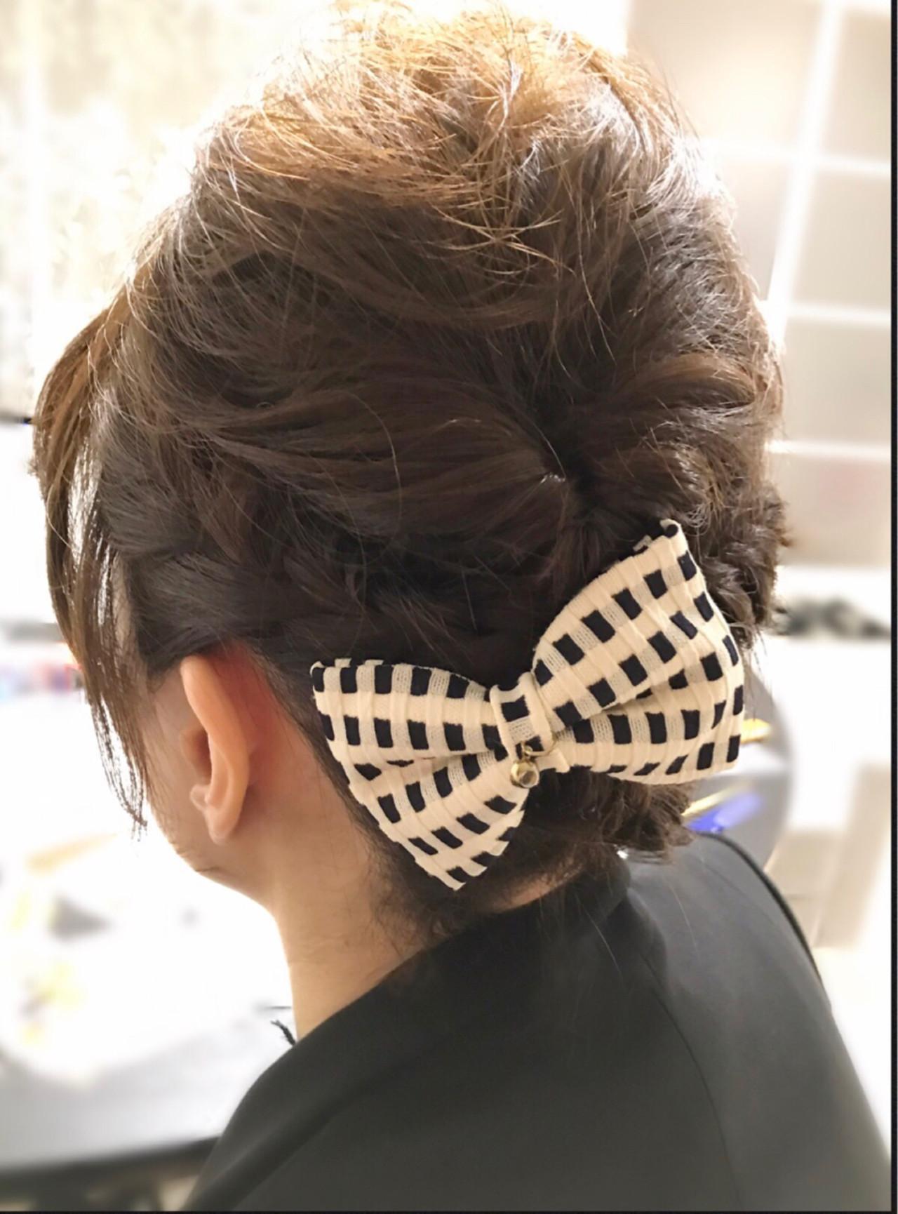 ナチュラル 編み込み ショート ヘアアレンジ ヘアスタイルや髪型の写真・画像