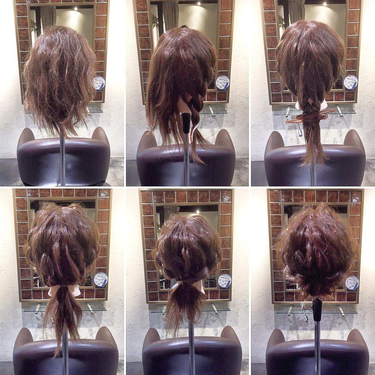 これさえ見ればすぐできる!簡単3ステップ♡ギブソンタックのやり方を公開! 衣笠 雅俊  LOGICA HAIR DESIGN