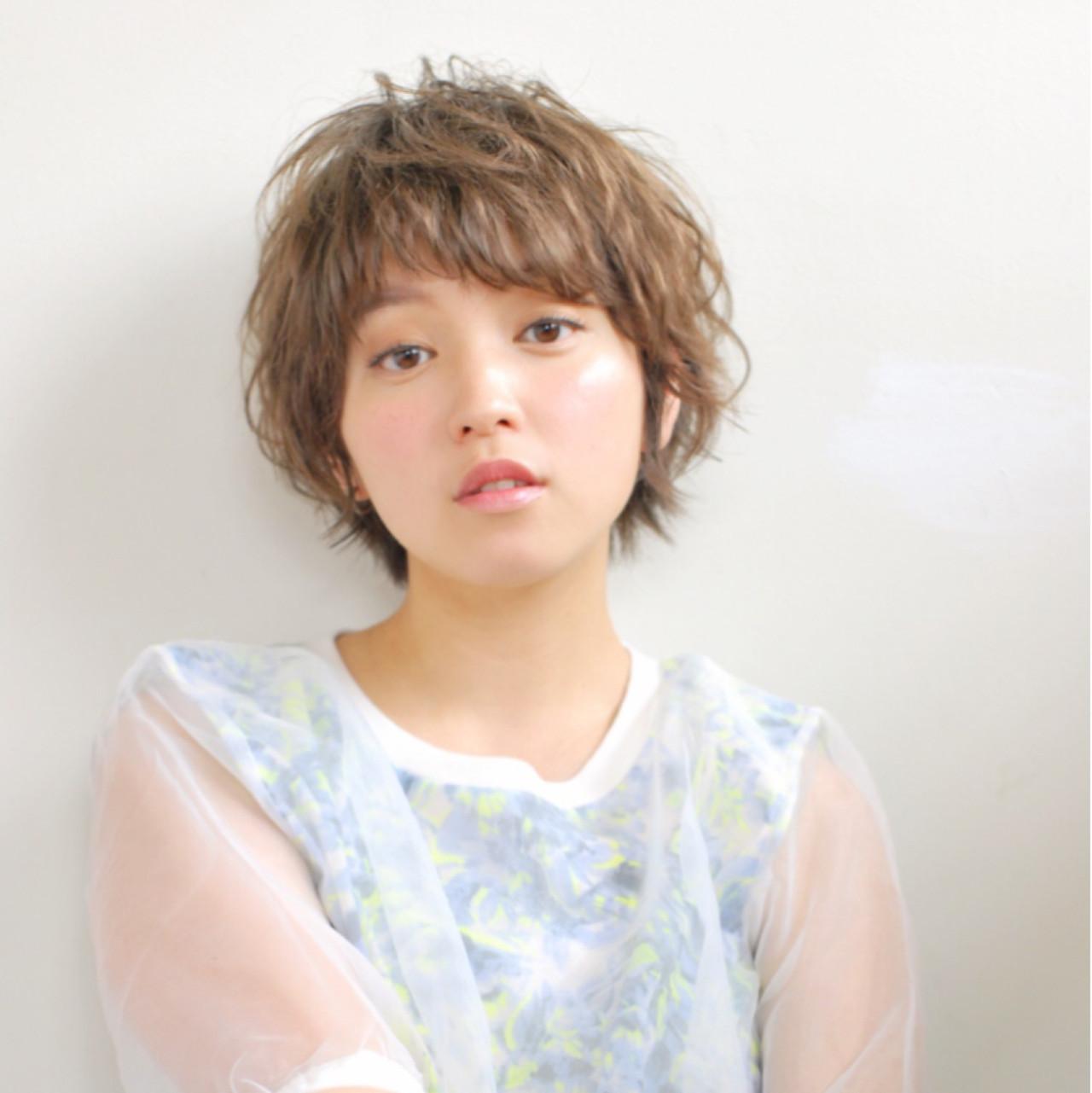 ワンランク上のショートへア♡パーマでおしゃれエッセンスをプラスしましょ! Takumasa Maejima | La familia