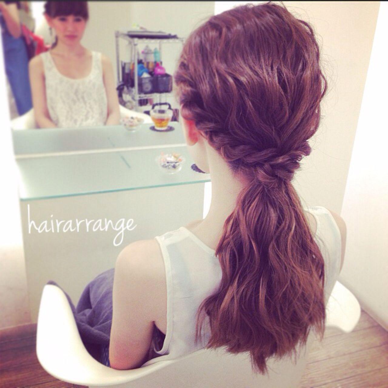 セルフで簡単!結婚式にしていきたい髪型アレンジを徹底解説 Kaneko Mayumi | BOTTOMS