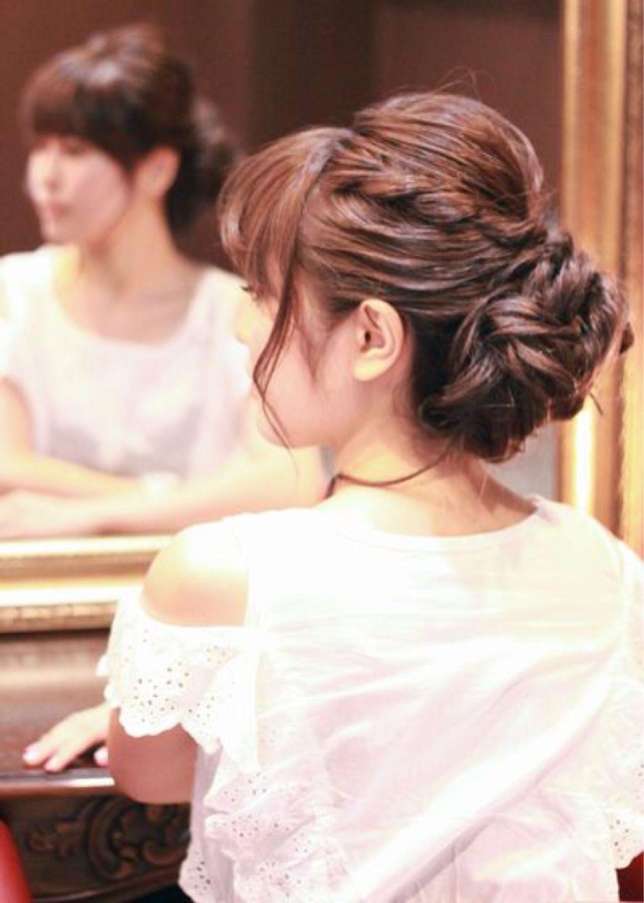 セルフで簡単!結婚式にしていきたい髪型アレンジを徹底解説 佐伯 龍 | ROYS(ロイス)