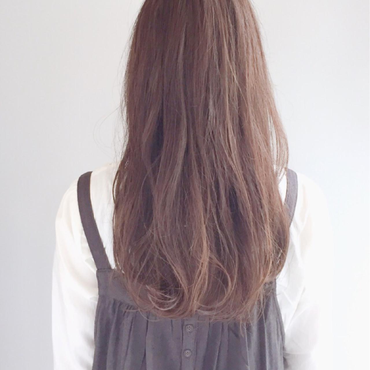 透明感 ロング 愛され ニュアンス ヘアスタイルや髪型の写真・画像