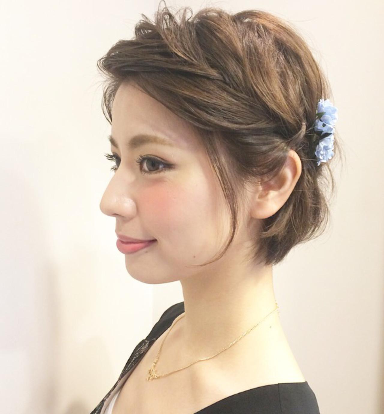 セルフで簡単!結婚式にしていきたい髪型アレンジを徹底解説 Kasumi Nishimoto | hair salon Cher