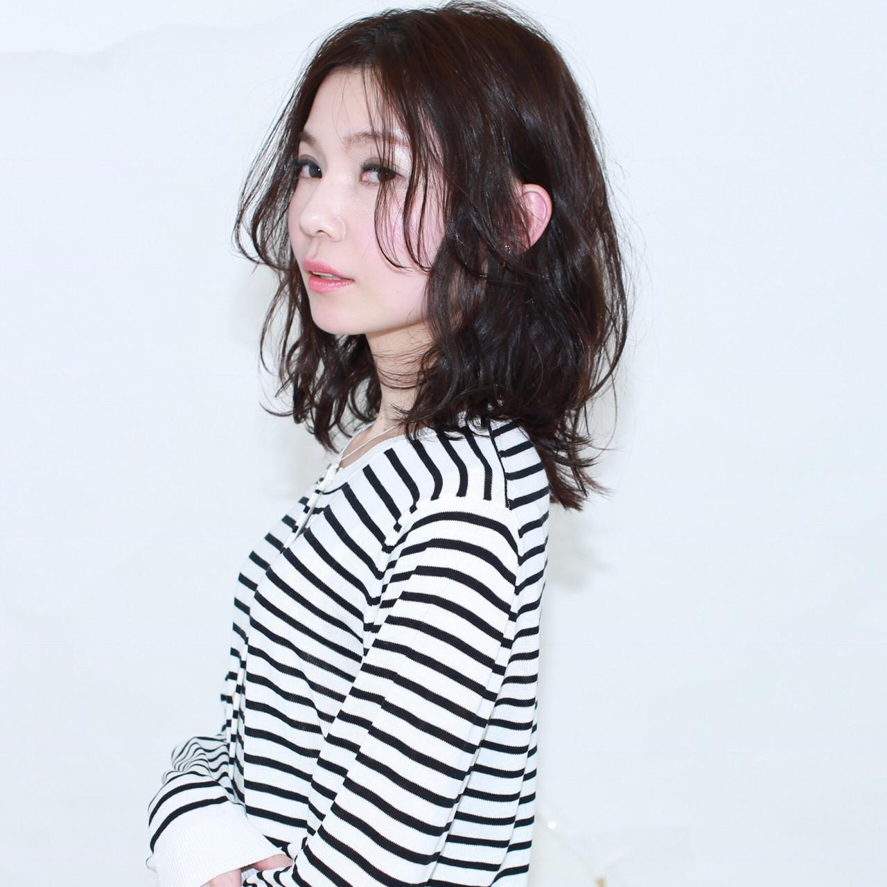 なりたい自分になれる!黒髪セミディのヘアスタイルカタログ イマムラ スナオ