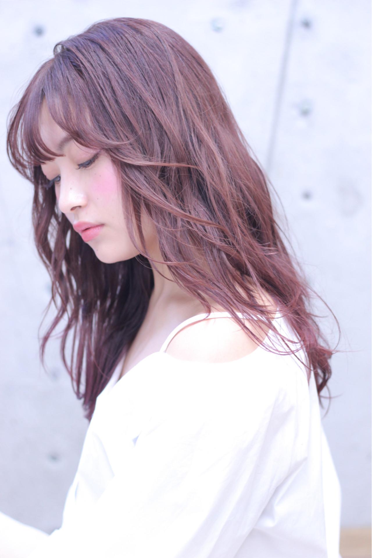 女子力アップ!チェリーピンクの髪色で春らしいモテ髪ゲット♪ Wataru Maeda