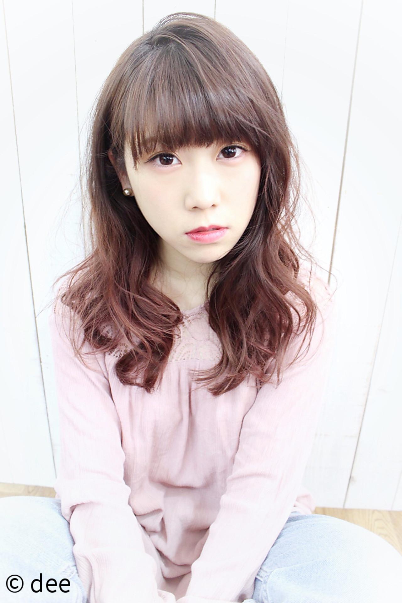 女子力アップ!チェリーピンクの髪色で春らしいモテ髪ゲット♪ dee