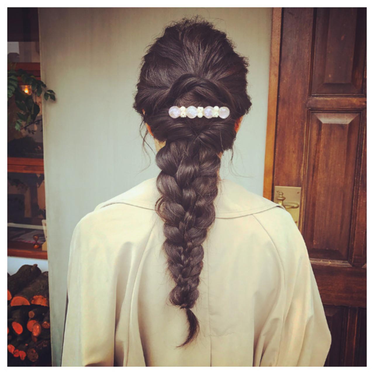 ガーリー ロング ヘアアレンジ 結婚式 ヘアスタイルや髪型の写真・画像
