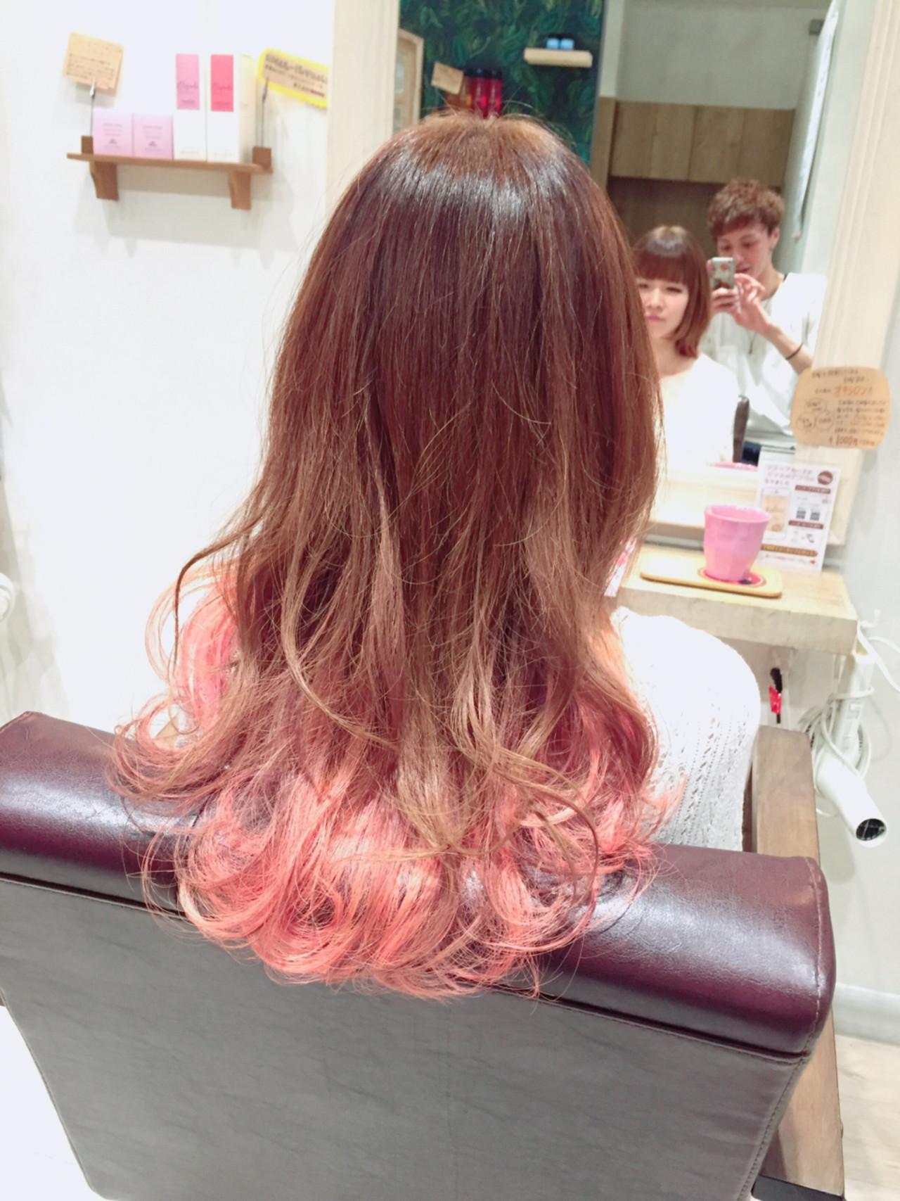 女子力アップ!チェリーピンクの髪色で春らしいモテ髪ゲット♪ 田島 史也
