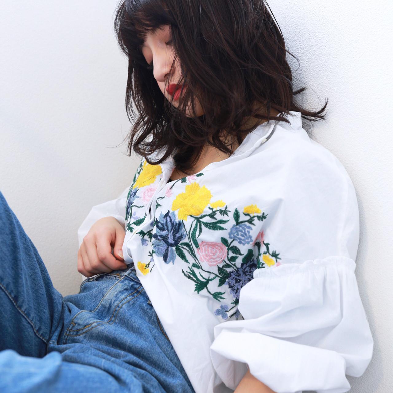 なりたい自分になれる!黒髪セミディのヘアスタイルカタログ 阿部 将明