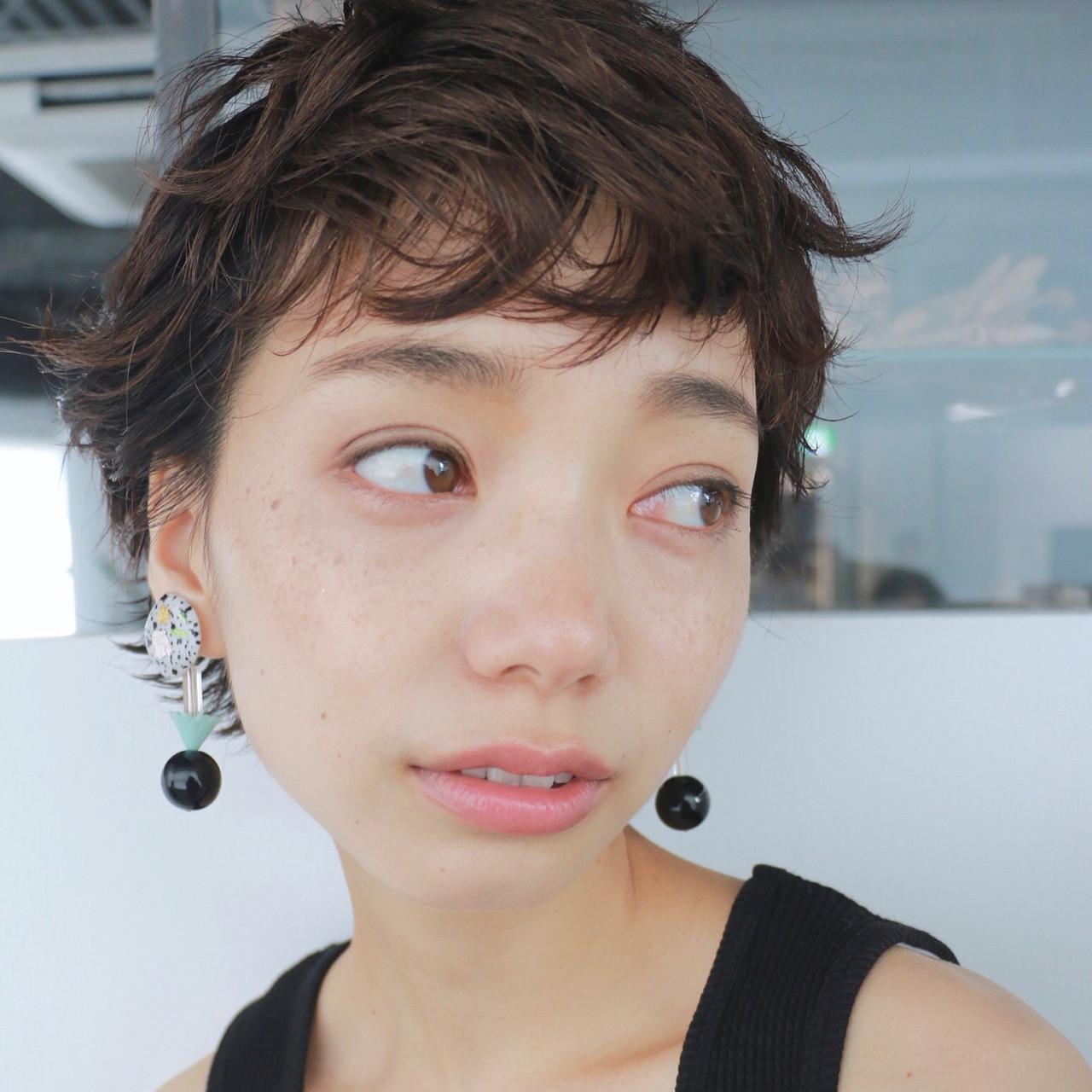 目指したいのは海外セレブの髪型!頭の形がきれいに見える外国人風ショート 高橋 忍  nanuk渋谷店(ナヌーク)