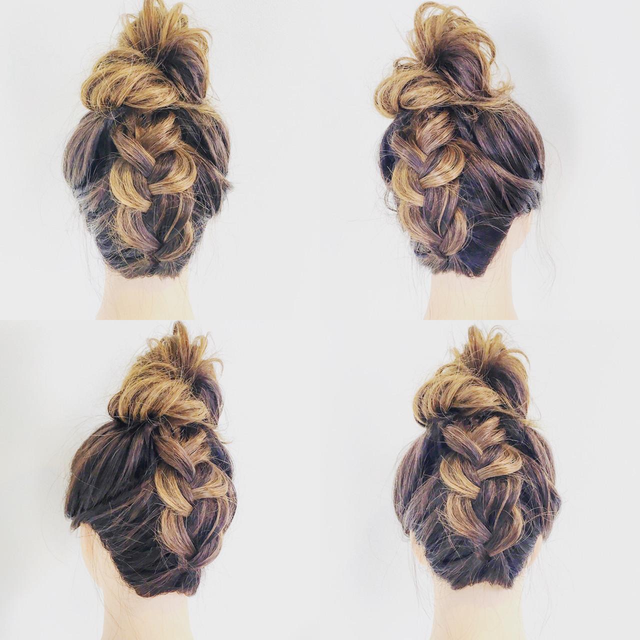 外国人風 フェミニン ルーズ ヘアアレンジ ヘアスタイルや髪型の写真・画像
