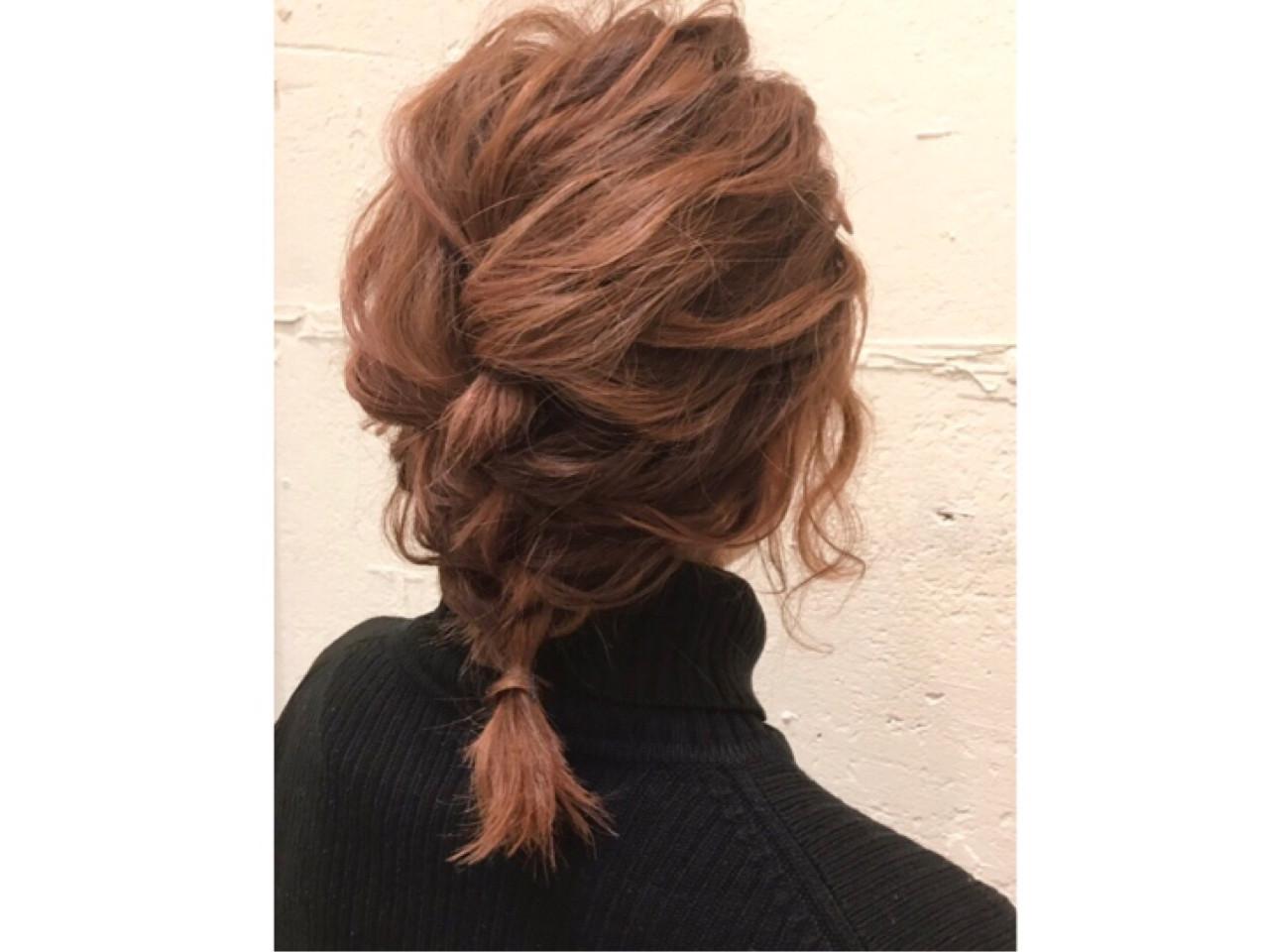 ショート ガーリー ボブ 簡単ヘアアレンジ ヘアスタイルや髪型の写真・画像