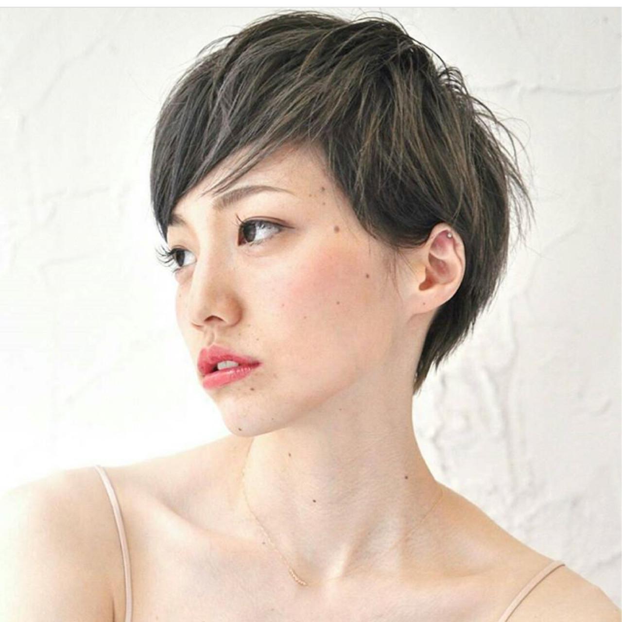 ショートに人気のヘアカラーはこれ!髪色で変化を付けよう♪  KAHO YANAGIHARA