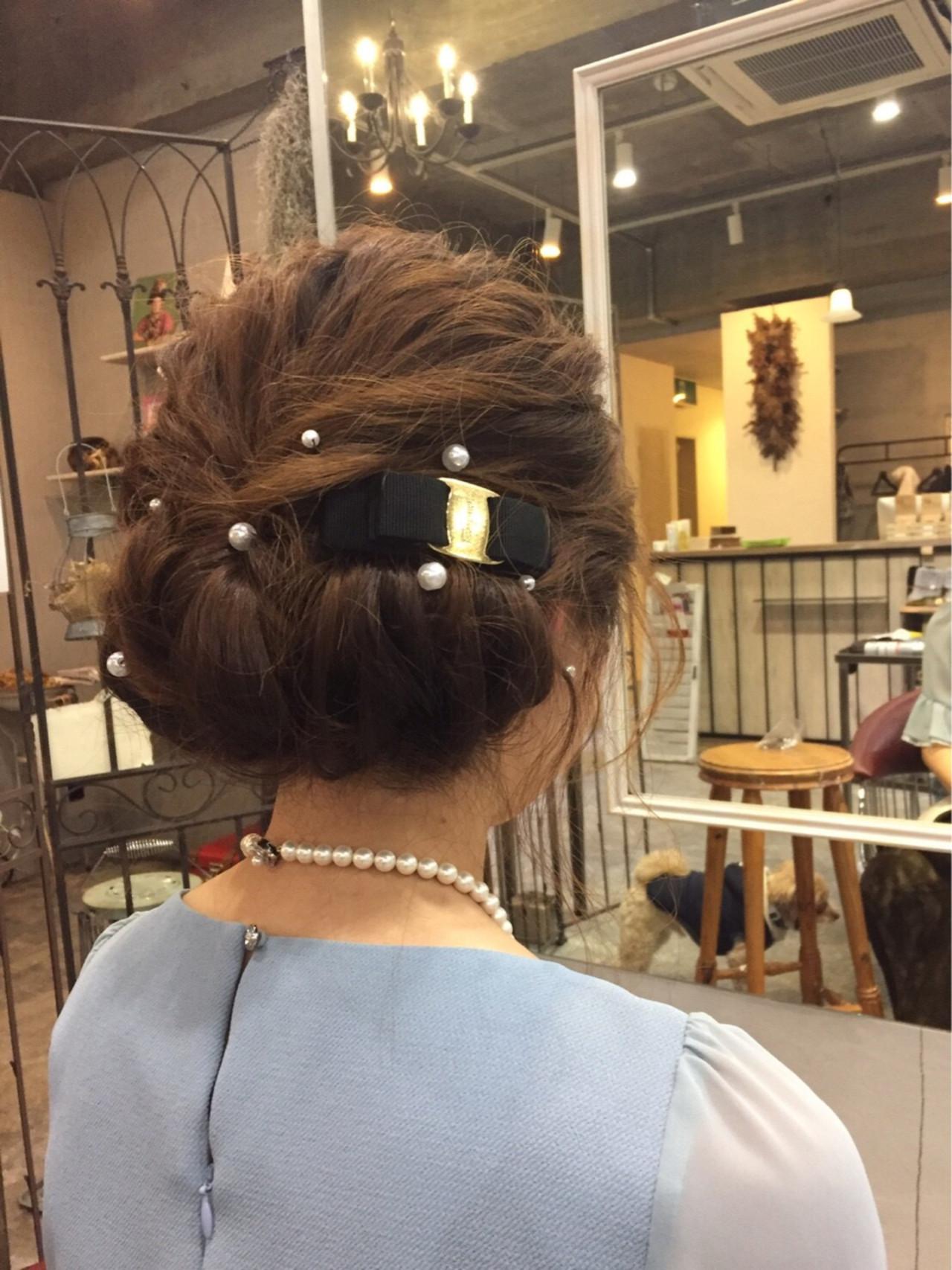 結婚式髪型はやっぱりアップ♡長さ別!女度が上がるアップアレンジをご紹介! 志治 幸佳