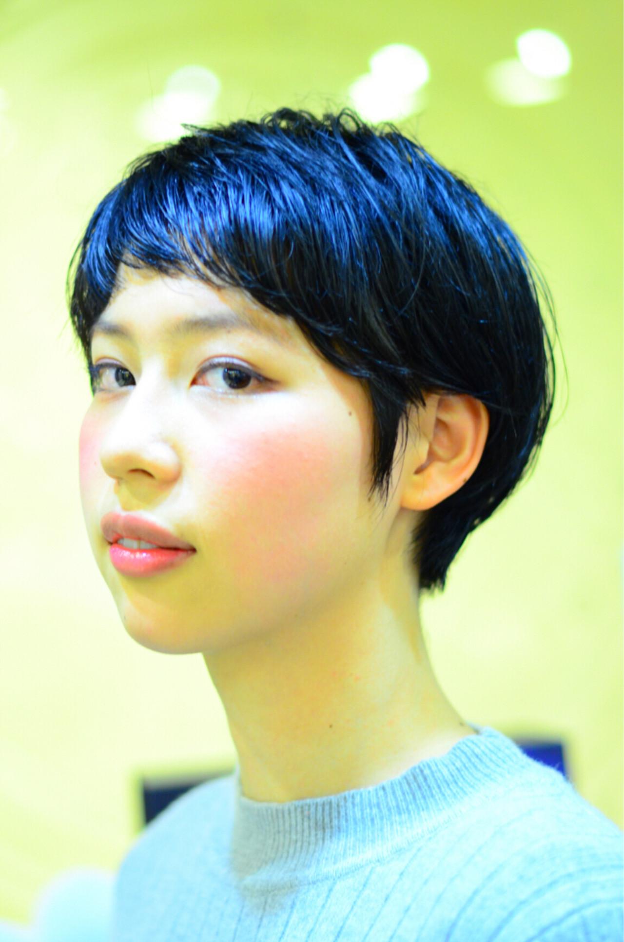 目指したいのは海外セレブの髪型!頭の形がきれいに見える外国人風ショート 星野忍伸  SHAMPOOBOY FLAP