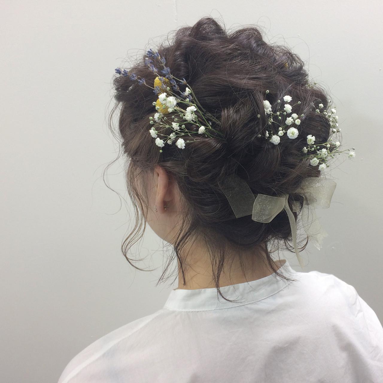 結婚式髪型はやっぱりアップ♡長さ別!女度が上がるアップアレンジをご紹介! Natsuki