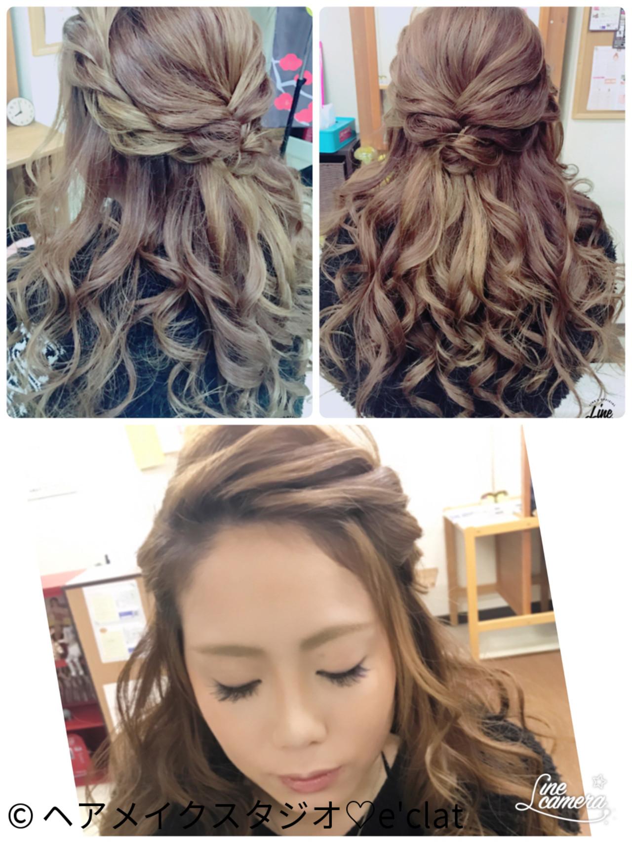たっぷり褒められちゃう結婚式髪型♡かわいさ極上のロングアップ10選
