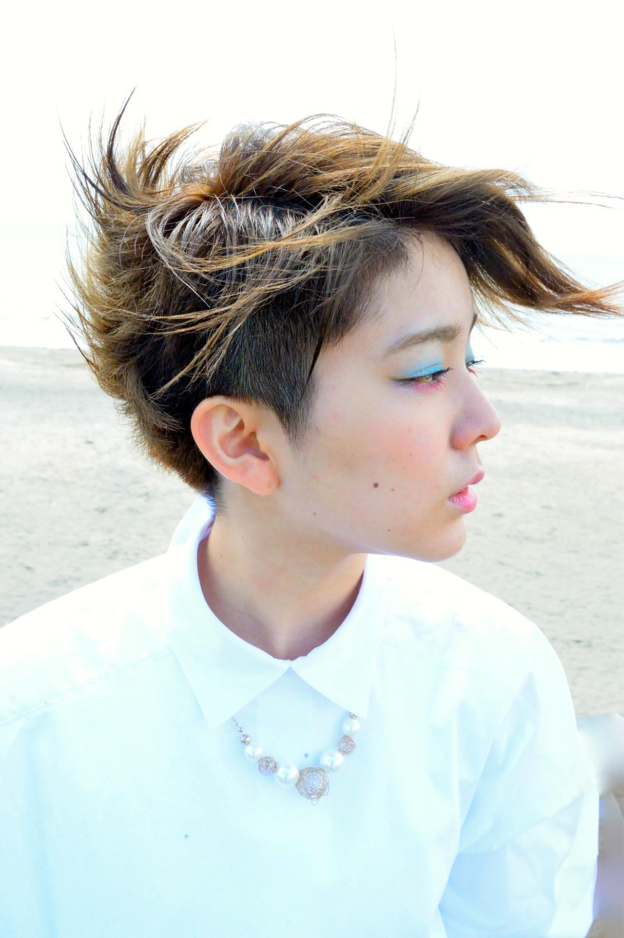 ショートボブ ショート モード ボブ ヘアスタイルや髪型の写真・画像