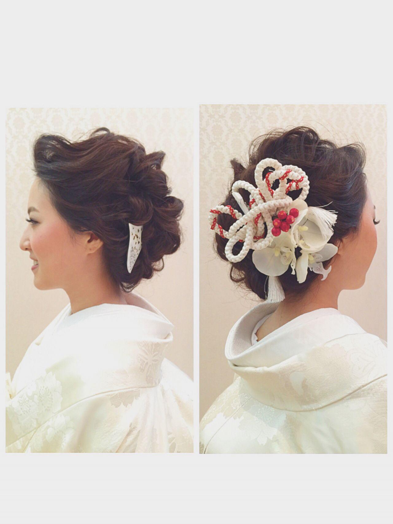 【花嫁さん向け】結婚式でアナタの魅力を最大限発揮♡ミディアム髪型アレンジ 池内えり