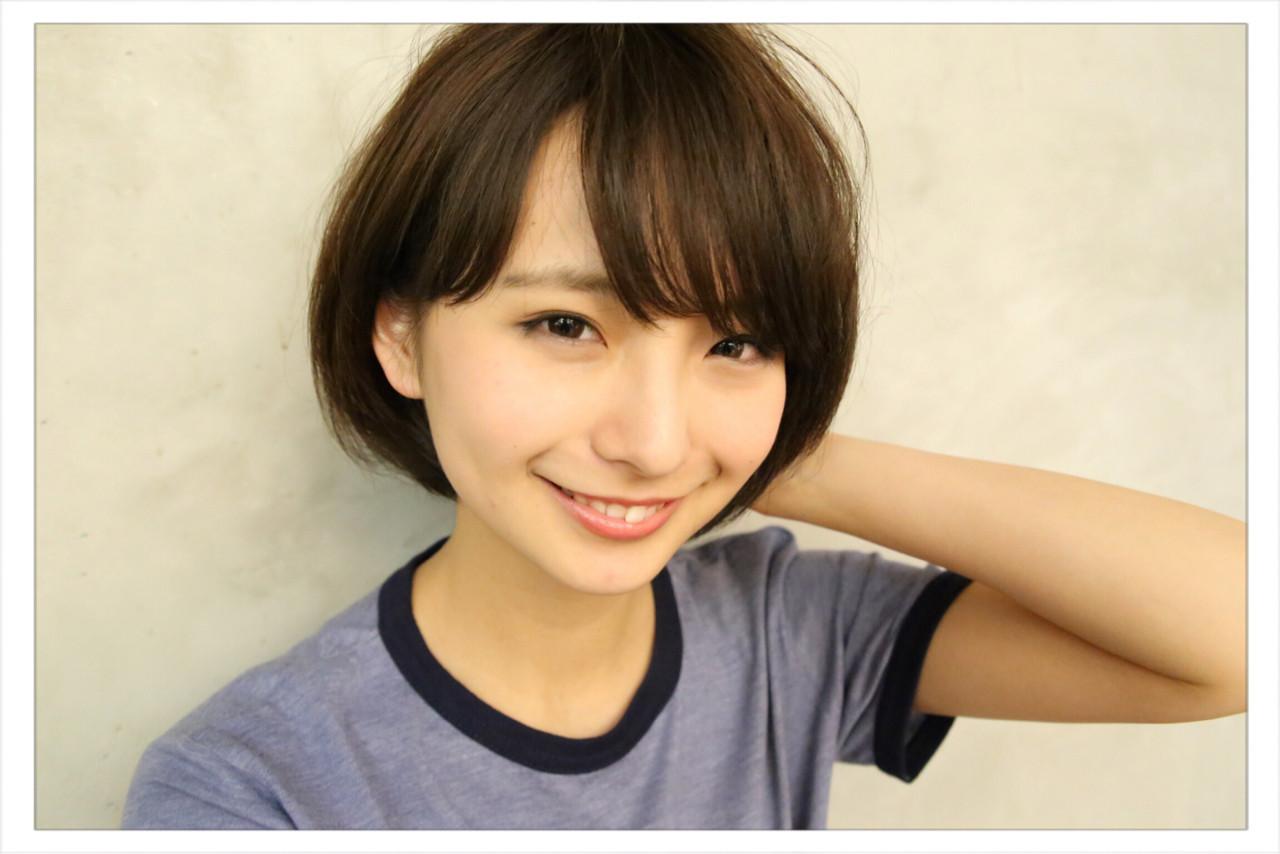 シックで大人可愛いヘアにはダークブラウンがマストカラー♡ 小野 圭介