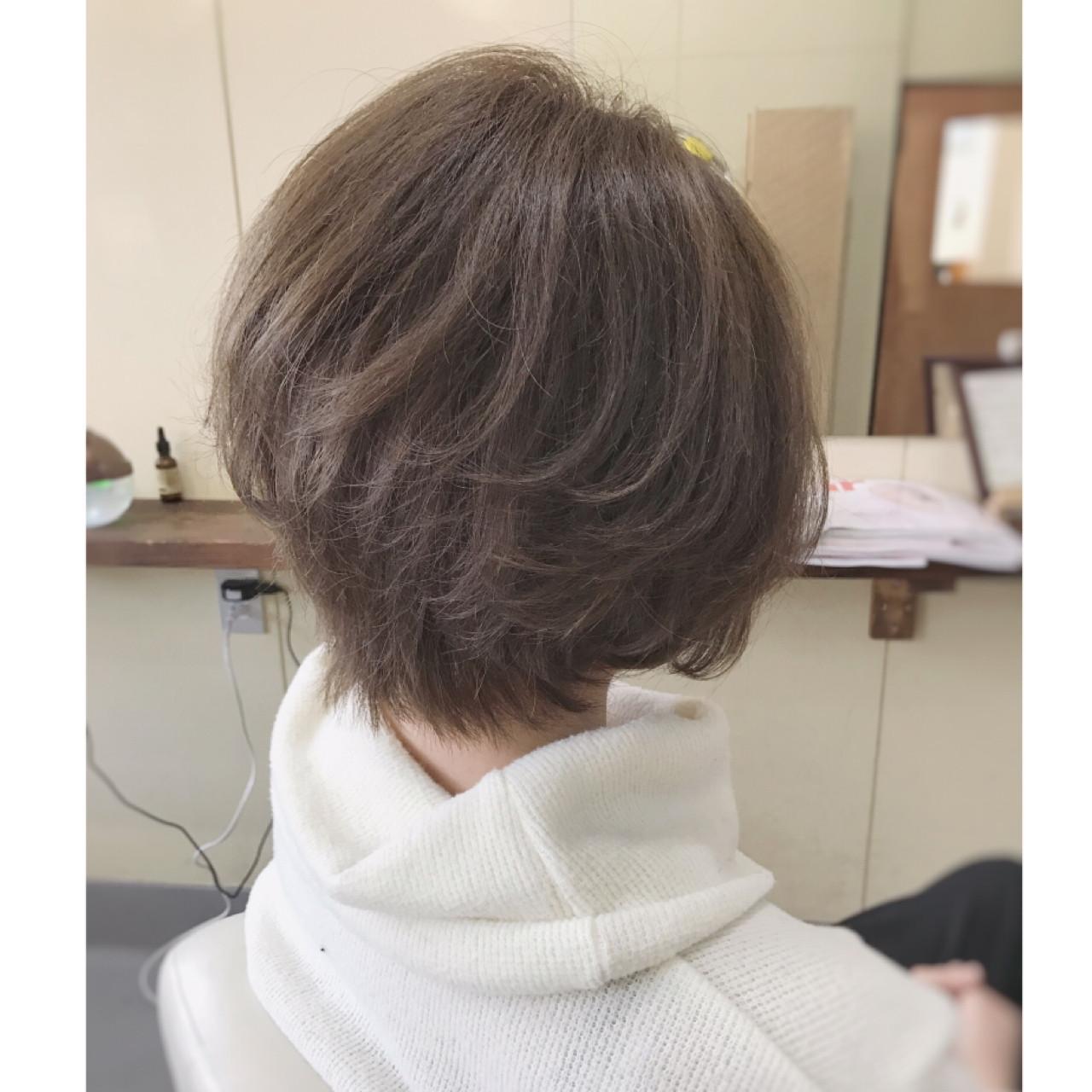 大人の魅力がいっぱい詰まった人気ショートヘアスタイル♡ サワ
