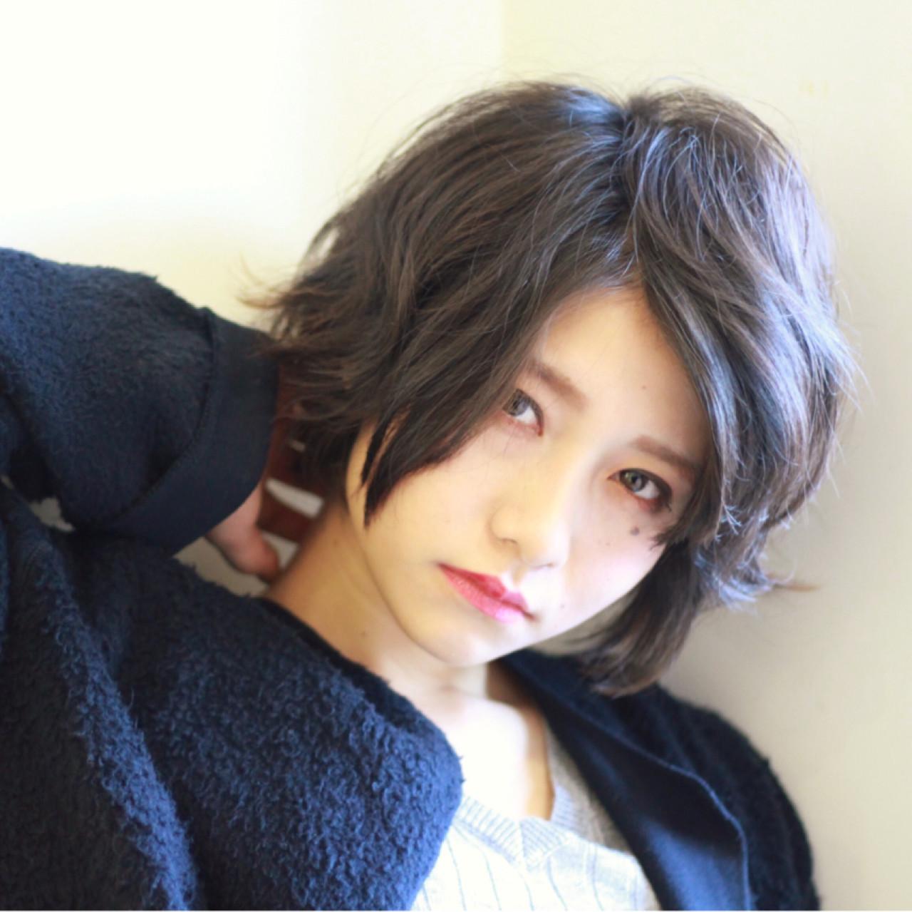 大人の魅力がいっぱい詰まった人気ショートヘアスタイル♡ 安藤 明日翔
