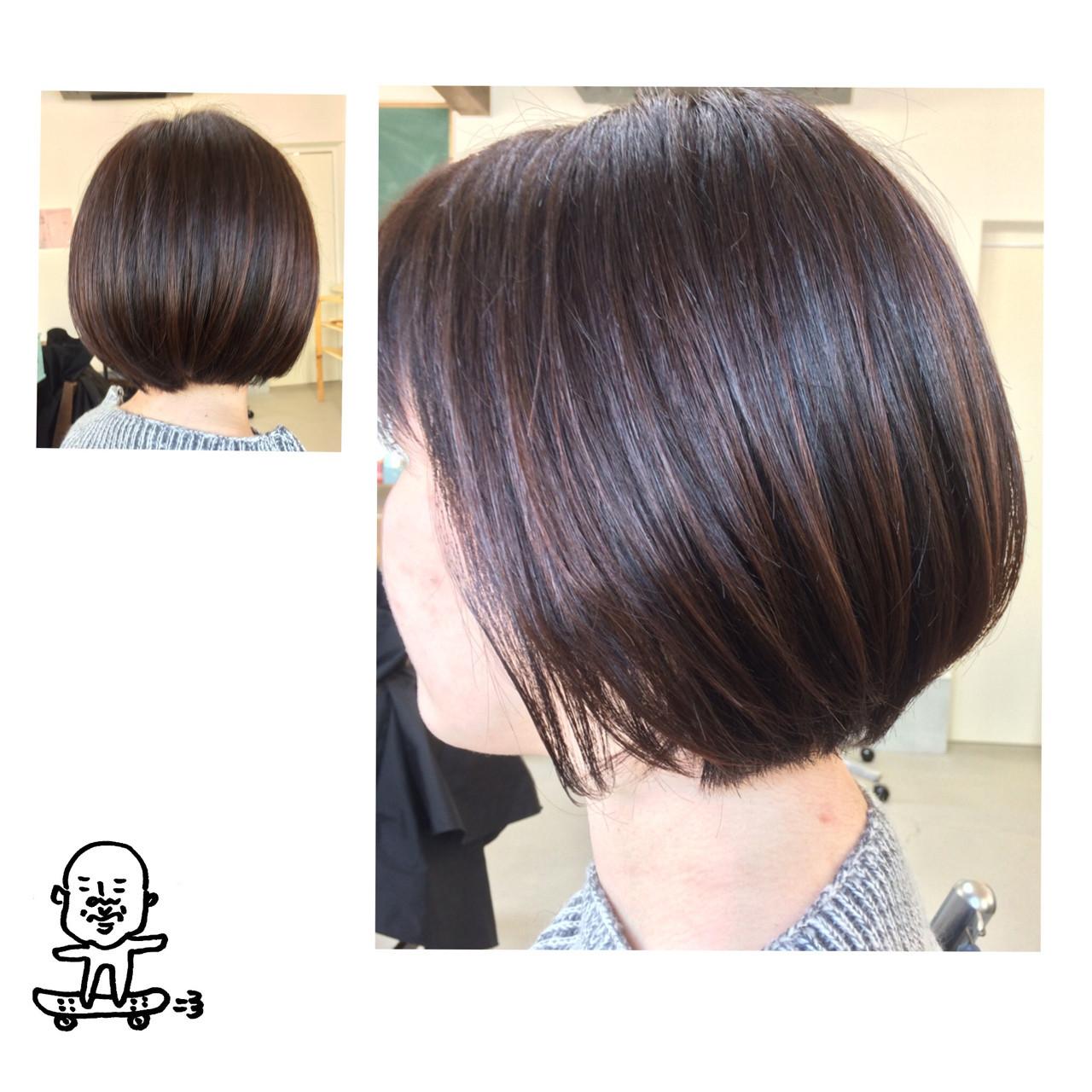 大人の魅力がいっぱい詰まった人気ショートヘアスタイル♡ iwamoto atsushi