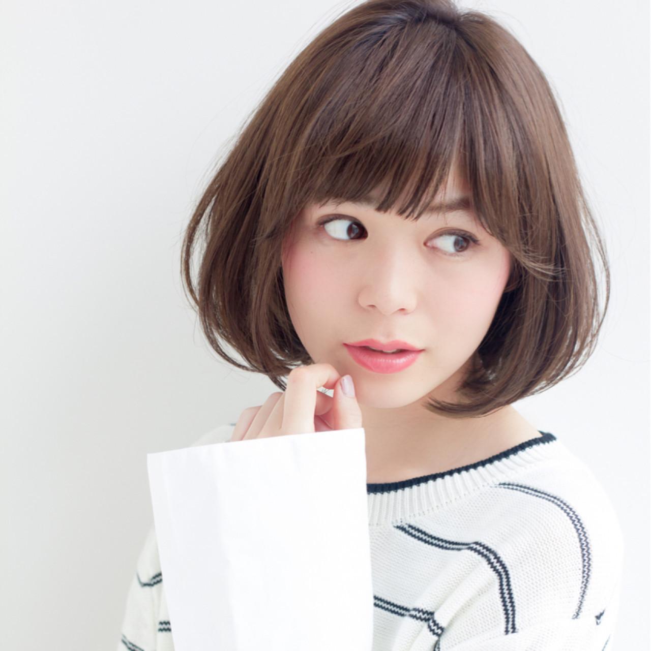 朝も楽チン!定番モテスタイルはストレートボブで決まり♡ 東 純平