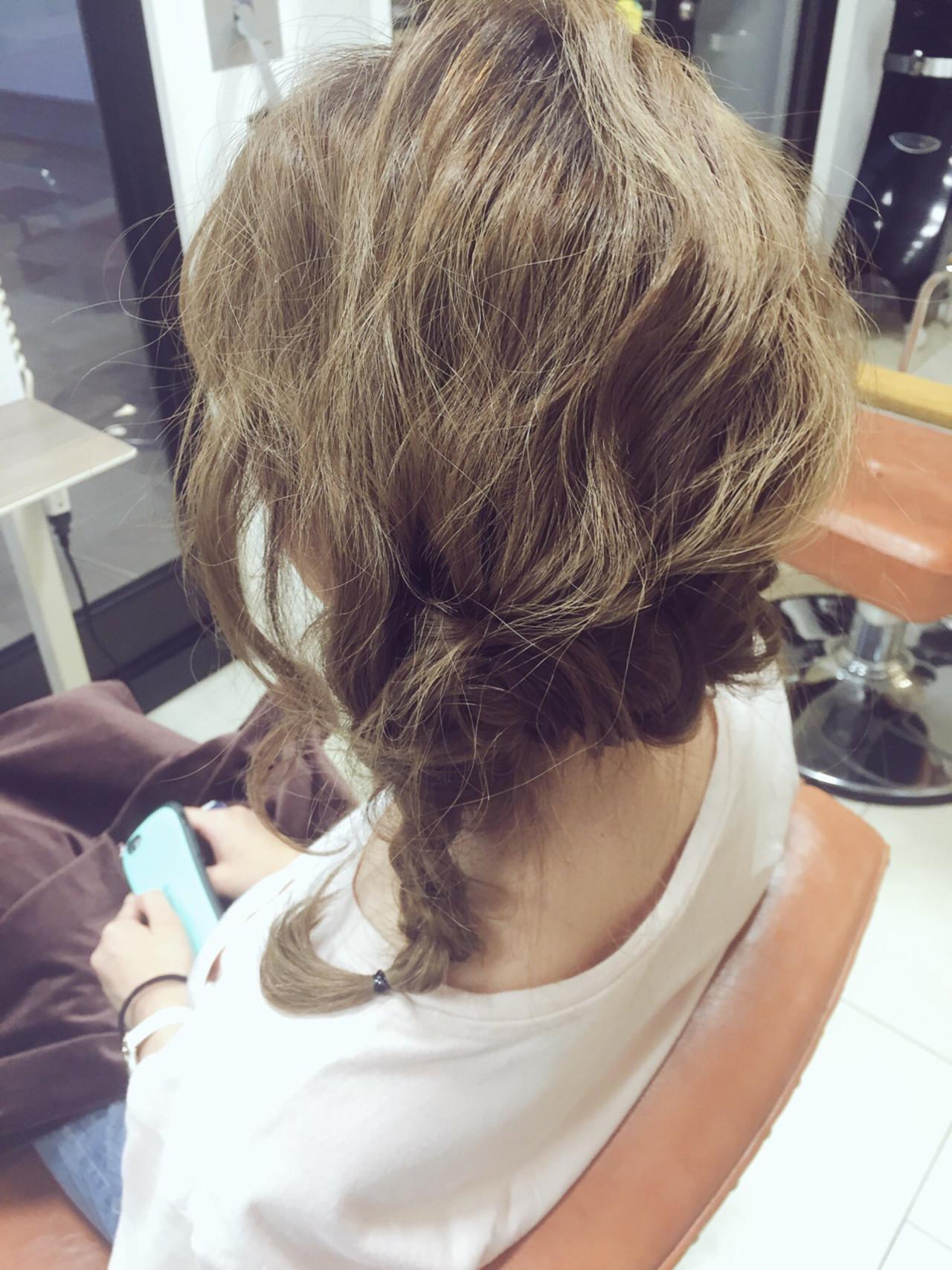 ロング ヘアアレンジ 波ウェーブ ディズニー ヘアスタイルや髪型の写真・画像
