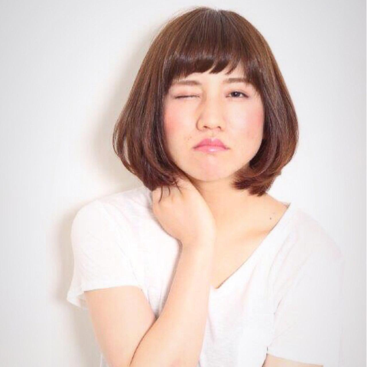 シックで大人可愛いヘアにはダークブラウンがマストカラー♡ 神 雄介