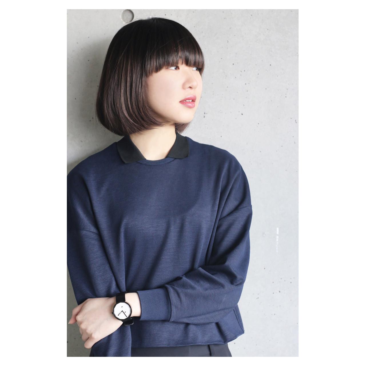 黒髪の美しさそのままで外国人風の透明感♡今人気のダークアッシュとは? 伊藤修久