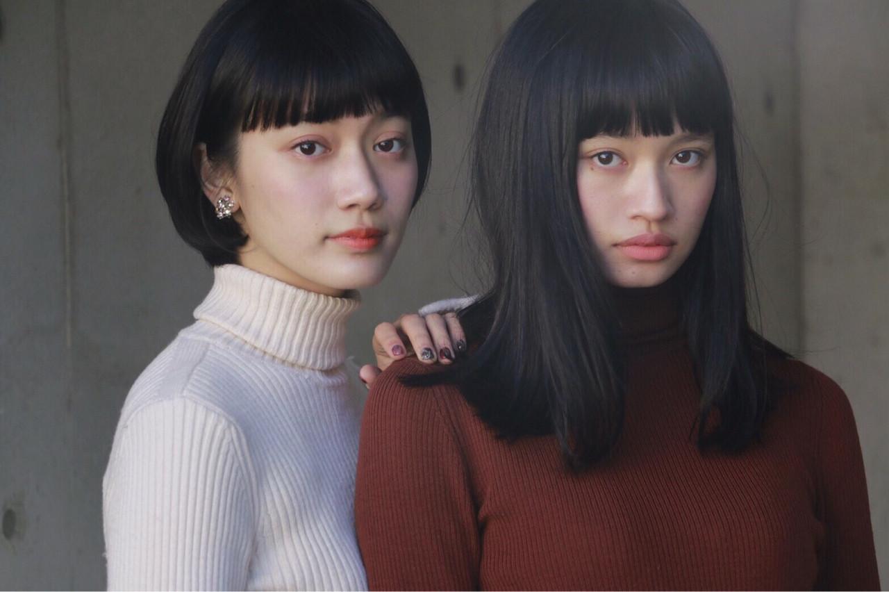 おしゃれヘアスタイル2017!編集部オススメ髪型を長さ別ヘアカタログでお届け! 花之枝しほり