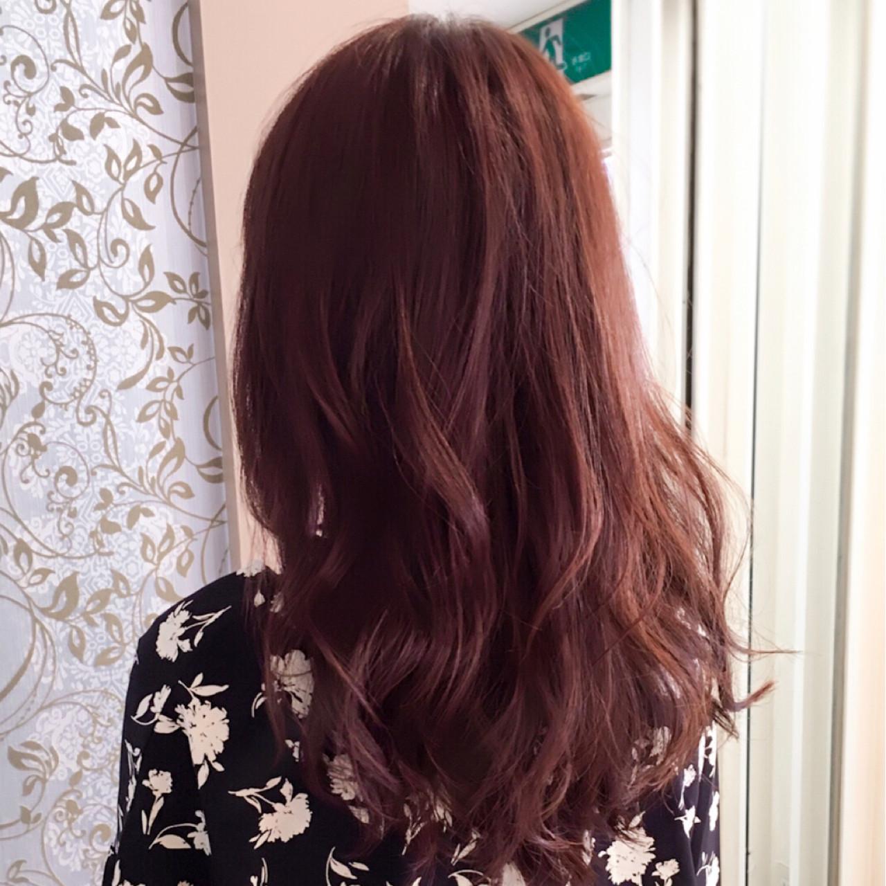透明感 ピンクアッシュ フェミニン ハイトーン ヘアスタイルや髪型の写真・画像