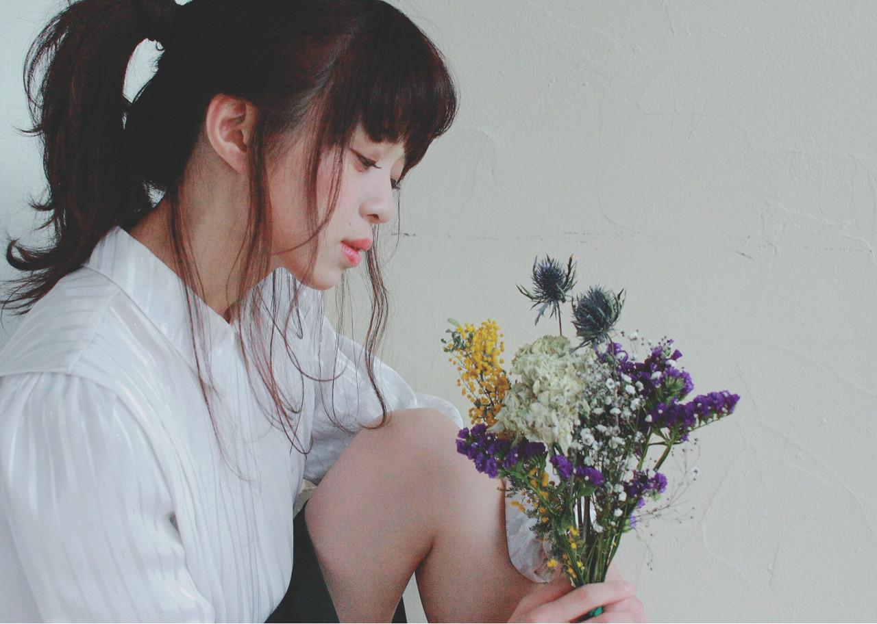 雰囲気が変わる!前髪アレンジでポニーテールをもっと可愛く見せちゃおう♪ HiuraMirai  BULB