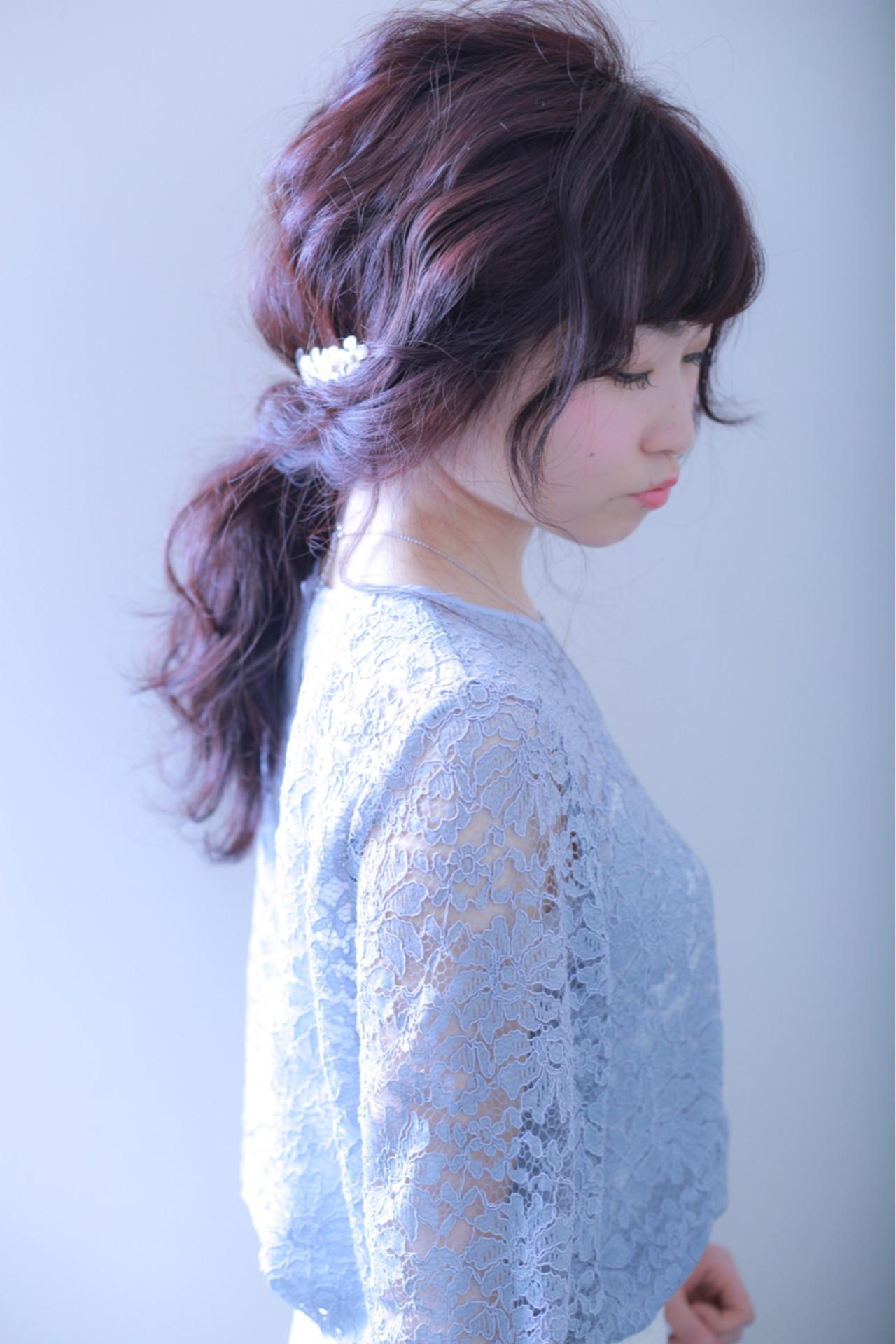 雰囲気が変わる!前髪アレンジでポニーテールをもっと可愛く見せちゃおう♪ 伊藤 裕貴  e-style上小田井店