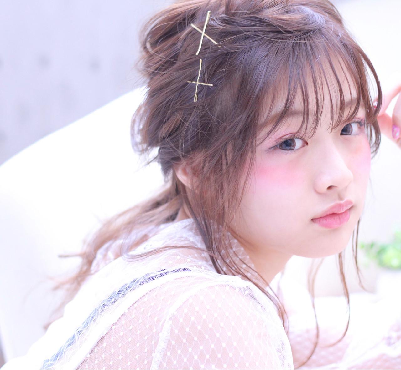雰囲気が変わる!前髪アレンジでポニーテールをもっと可愛く見せちゃおう♪ Wataru Maeda  cache cache