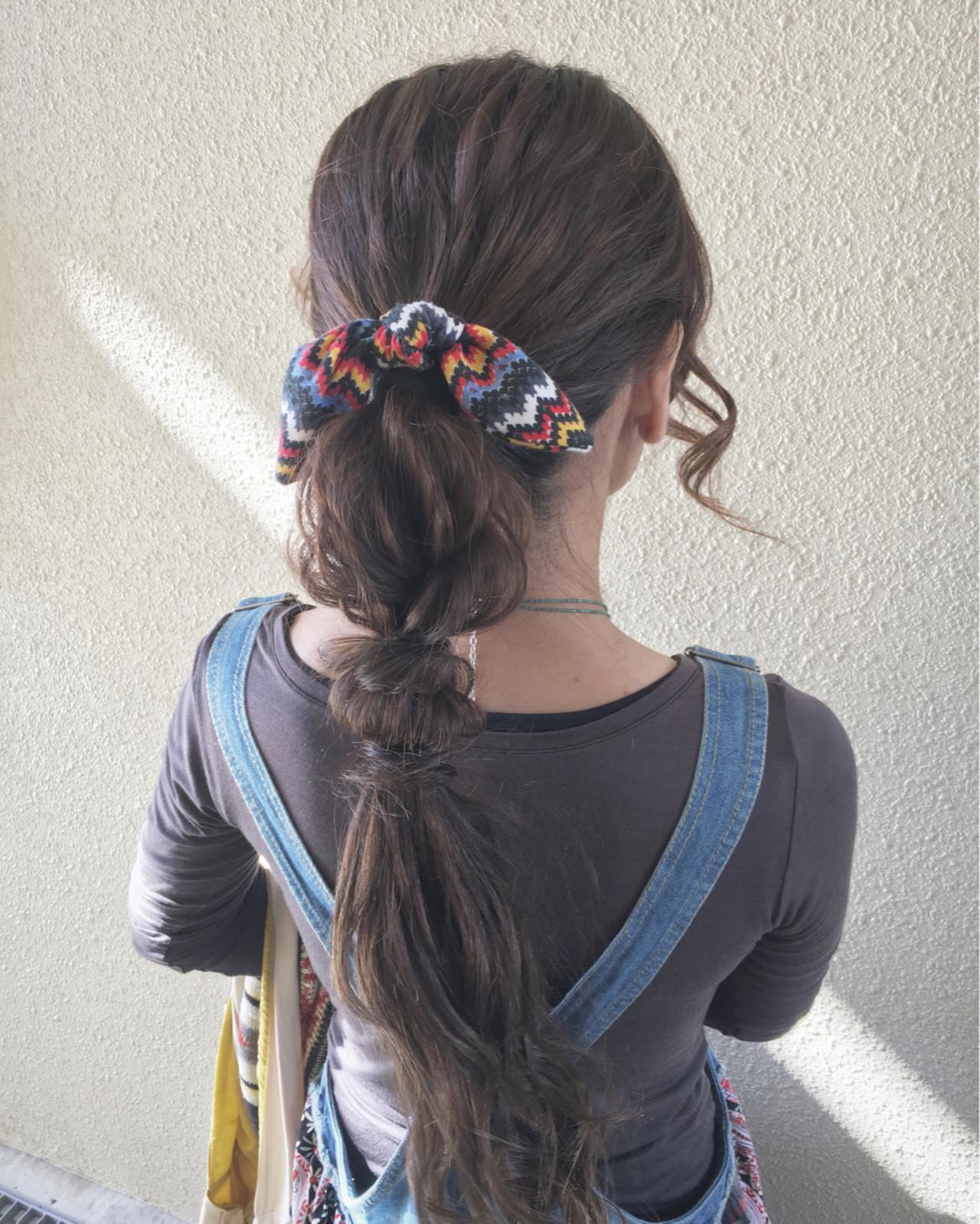 ショート 外国人風 ロング ヘアアクセ ヘアスタイルや髪型の写真・画像