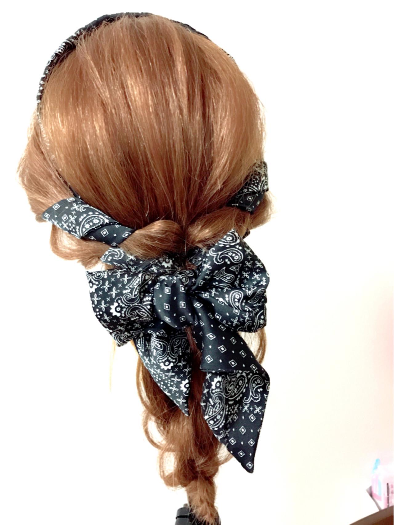 シンプルファッションにマッチ!バンダナを使ったおすすめヘアアレンジ 與那嶺翔 | Hair&Make EARTH あがり浜店
