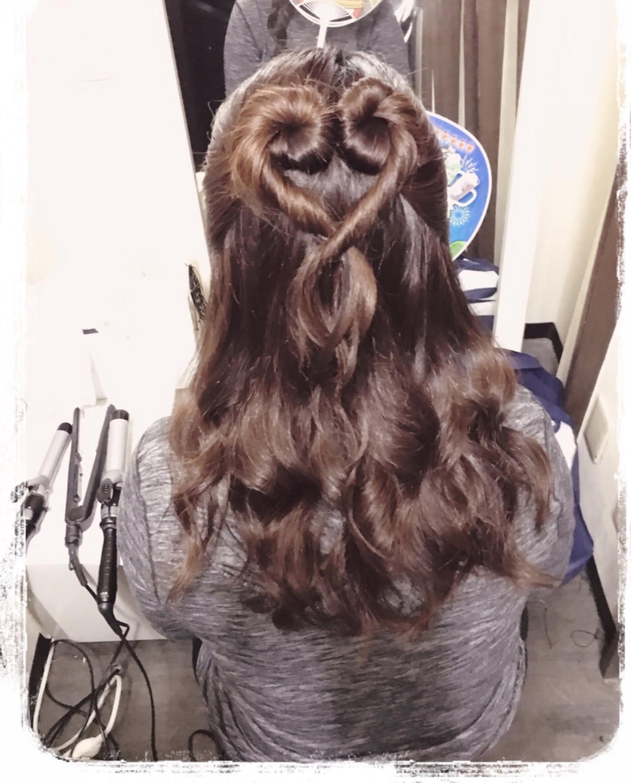 ハートモチーフでガーリーに♡とびきり可愛くなれちゃうハートのヘアアレンジ10選 ヘアメイクa-ko