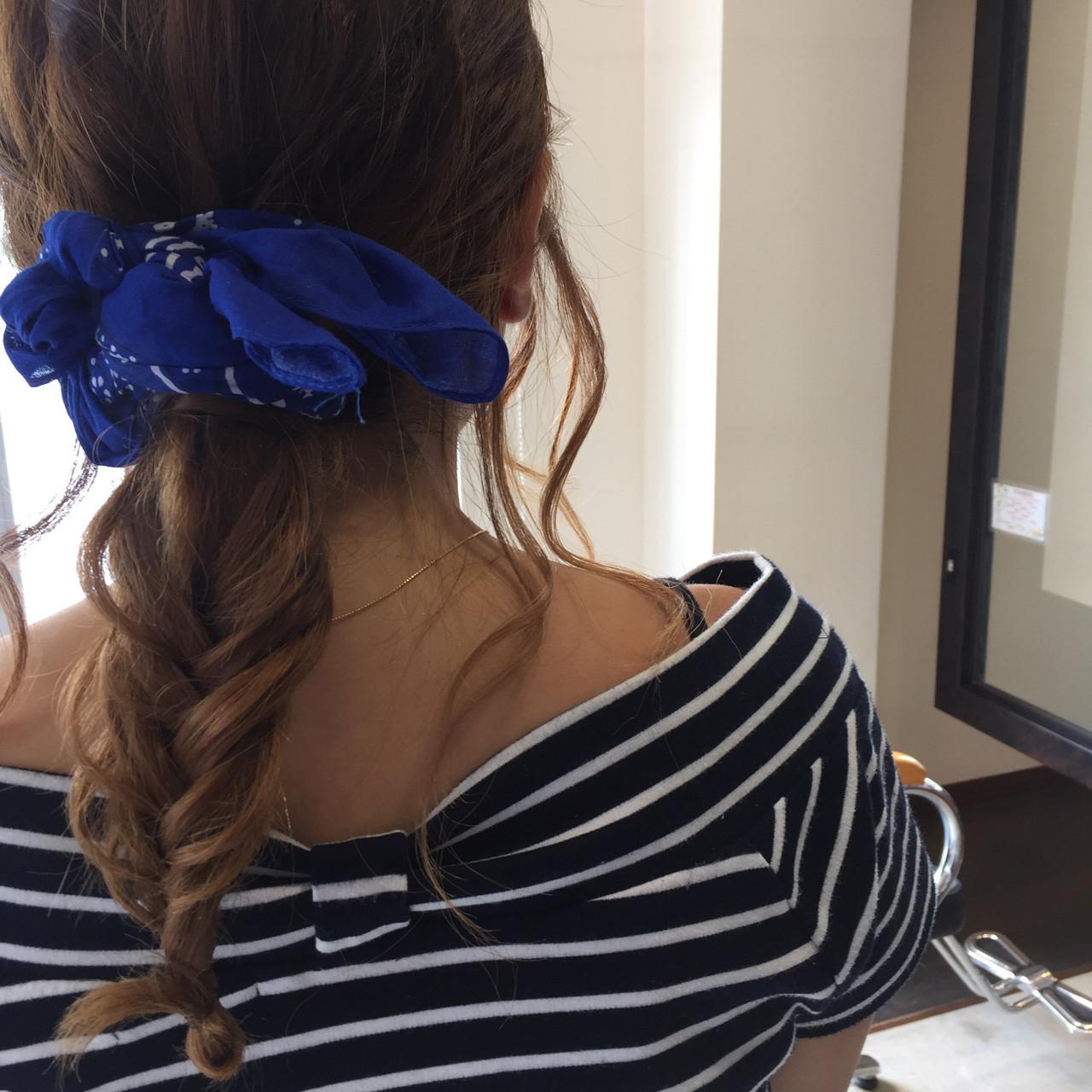 シンプルファッションにマッチ!バンダナを使ったおすすめヘアアレンジ 北口 和樹 | えいじぇんぬ