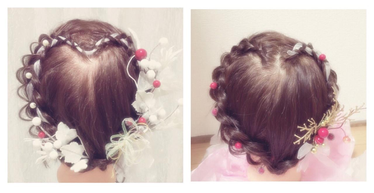 ハートモチーフでガーリーに♡とびきり可愛くなれちゃうハートのヘアアレンジ10選 sayo