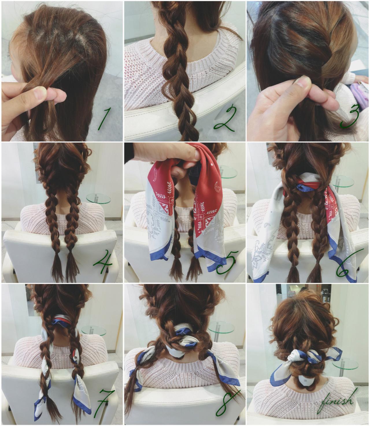 シンプルファッションにマッチ!バンダナを使ったおすすめヘアアレンジ takashi cawamura | HAIR & MAKE•UP TAXI
